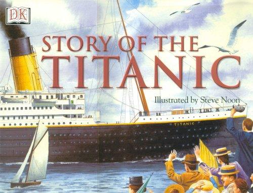 À bord du Titanic : la tragique traversée d'un géant des mers Story%20of%20the%20titanic%20jeunesse
