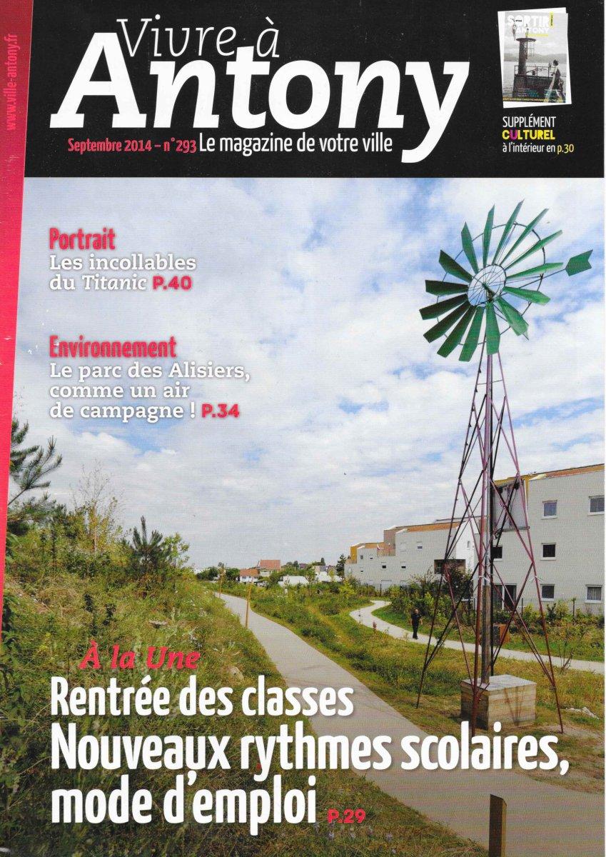 Témoignage de passionnés (revue Vivre à Antony, n°293, 09/14) 2014-11-02%20vivre%20a%20antony%201